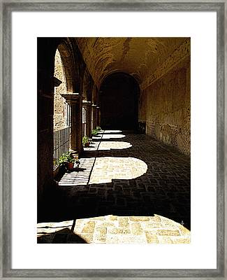 Deep Shadows Framed Print