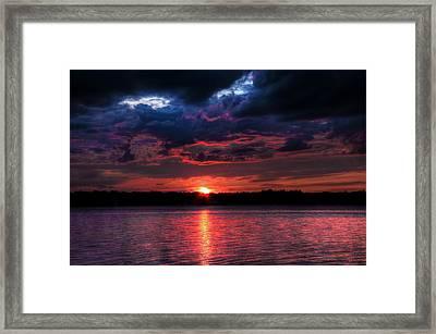 Framed Print featuring the photograph Deep Sky by Michaela Preston