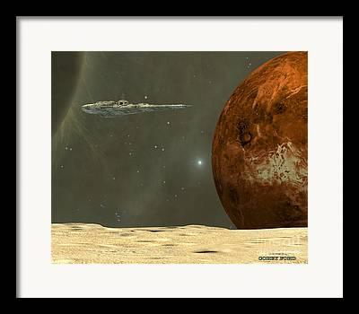 Starcruiser Framed Prints