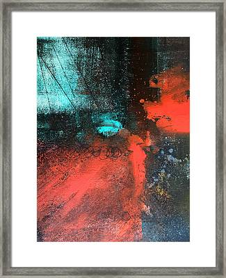 Deep Space Framed Print by Nancy Merkle