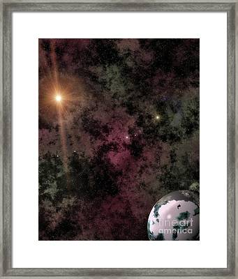 Deep Space Voyages Aronis Edition Framed Print by Robert Radmore