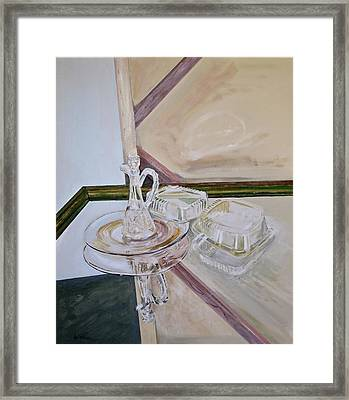 Deep Surface Framed Print by Bonnie See