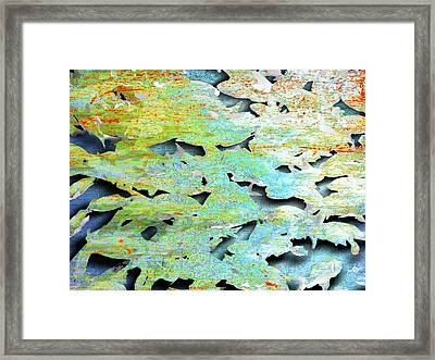 Framed Print featuring the mixed media Deep by Tony Rubino