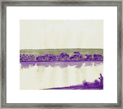 Deep Transparency Framed Print by Joshua Beard
