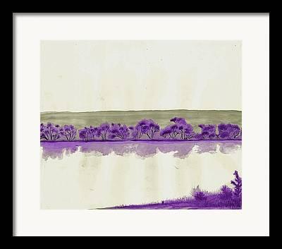 Fort Collins Drawings Framed Prints