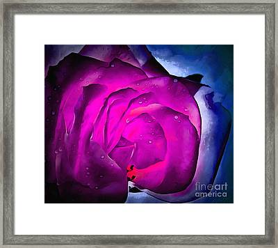 Deep Within Your Heart Framed Print