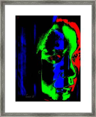Deeper Thoughts Framed Print by Fania Simon