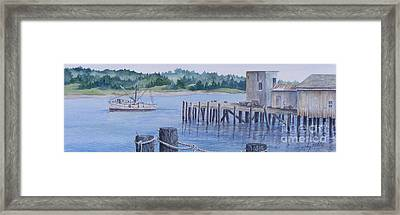 Deer Island  Original...sold Framed Print