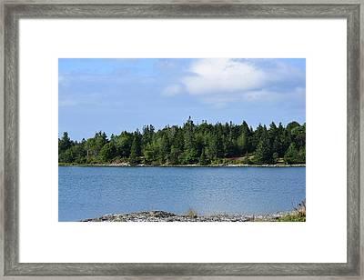 Deer Isle, Maine No. 5 Framed Print