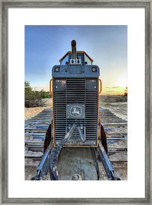 Deere Heavy Equipment  Framed Print by JC Findley