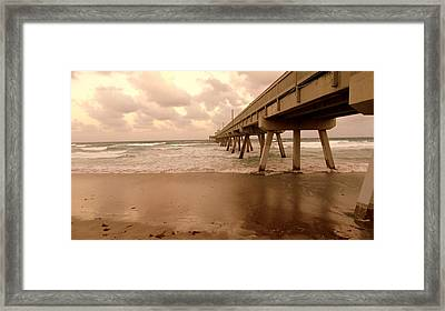 Deerfield Beach Framed Print by Louis Meyer