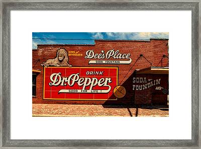 Dee's Place Framed Print by L O C