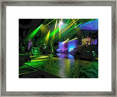 Def Leppard At Saratoga Springs 3 Framed Print