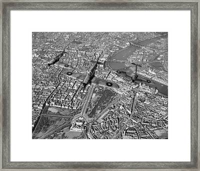 Defence Of The Realm Framed Print by Gary Eason