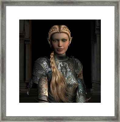 Defender Of The Realm Framed Print