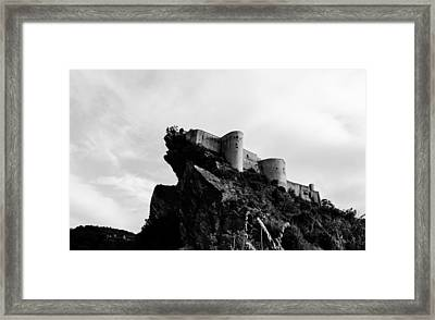 Defender Of The Sky Framed Print by Andrea Mazzocchetti
