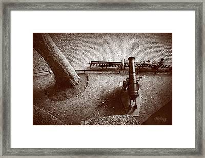 Defending London Framed Print
