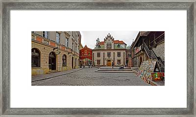 Defensive Walls By Pijarska Street Framed Print by Panoramic Images