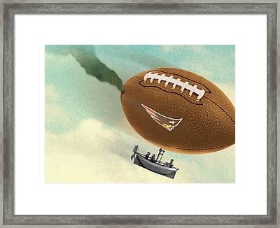 Deflategate Framed Print by Steve Dininno