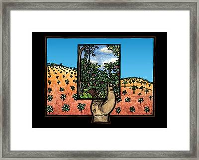 Deforestation Framed Print by Ricardo Levins Morales