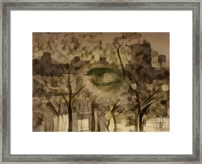Deforestation Framed Print by Santanu Karmakar
