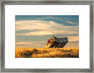 Defying Gravity Framed Print by Todd Klassy