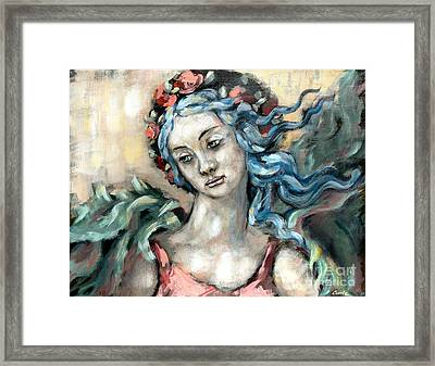 Degas Angel Framed Print