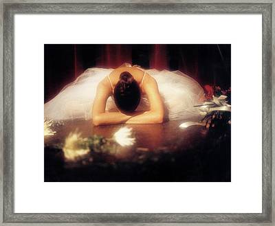 Degas Tribute 2 Framed Print by Luciano Comba
