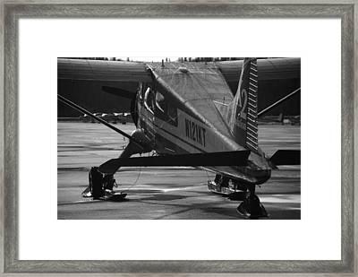 Dehavilland Beaver Framed Print by Alasdair Turner