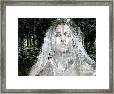 Deja Boo My Love Framed Print