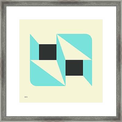 Deja Vu Framed Print by Jazzberry Blue