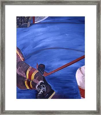 Deke Framed Print by Ken Yackel