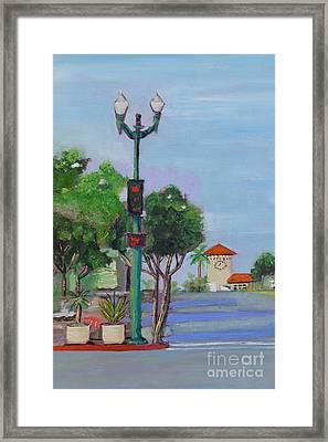 Del Mar And Ole Vista Framed Print