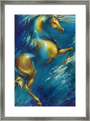 Framed Print featuring the painting Del Sol by Dina Dargo