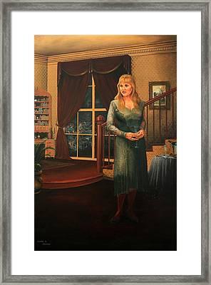 Delaina Framed Print