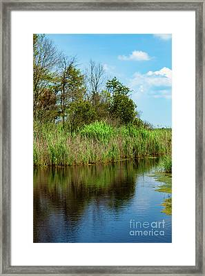 Delaware Waterway Framed Print