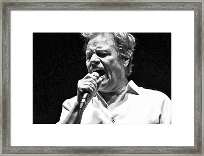 Delbert Mcclinton Sings The Blues Framed Print