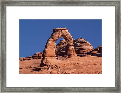 Delicate Arch - 8574 Framed Print