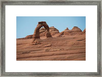 Delicate Arch Alternate View Framed Print