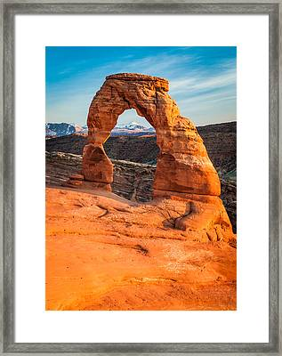 Delicate Arch - Arches National Park Photograph Framed Print