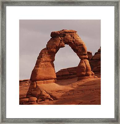 Delicate Arch Framed Print