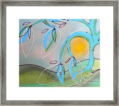Delicate Charms Framed Print
