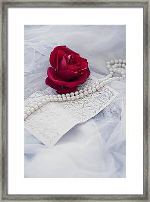 Delicate Framed Print by Art of Invi