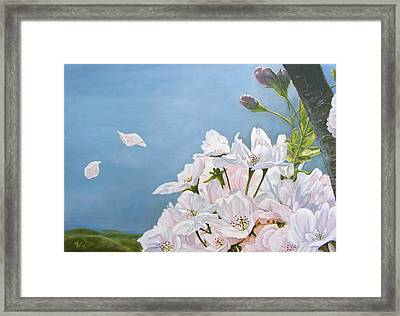 Delicate Sprinkles Of Delight Framed Print
