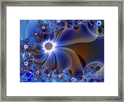 Delicatus Framed Print by Ron Bissett