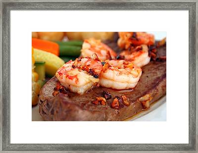 Delicious Dish Of The St. Croix Framed Print by Peter Parker