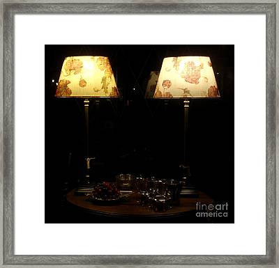 Delicious Night Framed Print by Valia Bradshaw