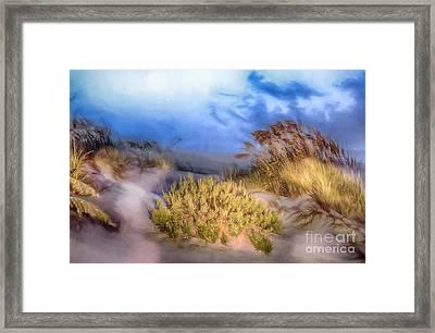 Delightfully Quiet Framed Print by Dan Carmichael