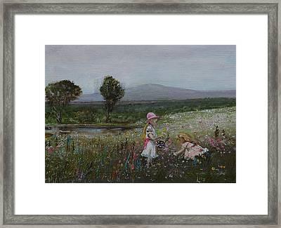 Delights Of Spring - Lmj Framed Print