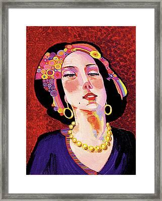 Delilah Framed Print by Bob Coonts
